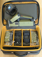 Сканер с принадлежностями в сумке